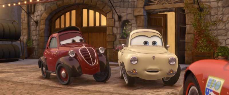 Oncle Topolino et Mama Topolino (Cars - Pixar)
