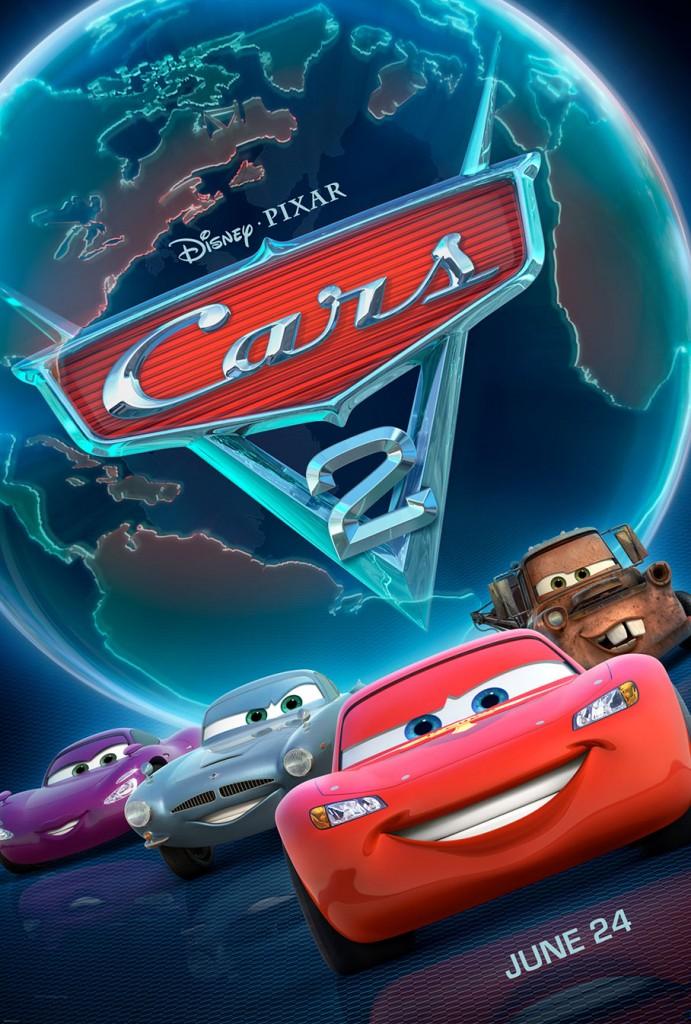 Affiche de Cars 2