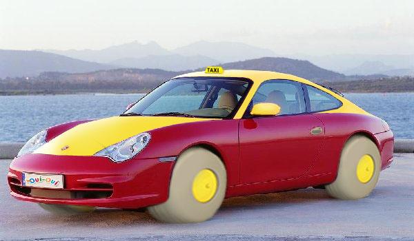 Porsche 911 voiture Oui-Oui