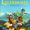 Les Légendaires Tome 1 : La Pierre de Jovénia (couverture)