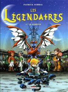 Les Légendaires Tome 2 : Le Gardien (Couverture)