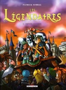 Les Légendaires Tome 3 : Frères ennemis (Couverture)
