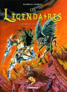 Les Légendaires Tome 4 : Le réveil de Kréa-Kaos (Couverture)
