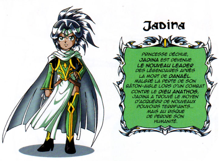 Design de Jadina à partir du tome 11