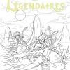Croquis de recherche de la couverture du tome 5 des Légendaires