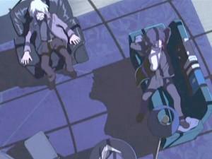 Tsuyoshi et Tadashi Daiba ont des rapports conflictuels (Captain Herlock : The Endless Odyssey)