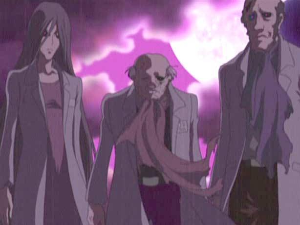 Les zombies de Noo sont venu chercher la traduction de Tsuyoshi (Captain Herlock : The Endless Odyssey)