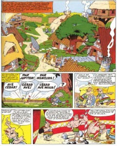 Page 1 du tome 12 d'Astérix aux jeux olympiques