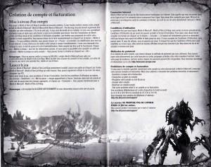Page 5 et 6 de la notice de la Colère du Roi Liche