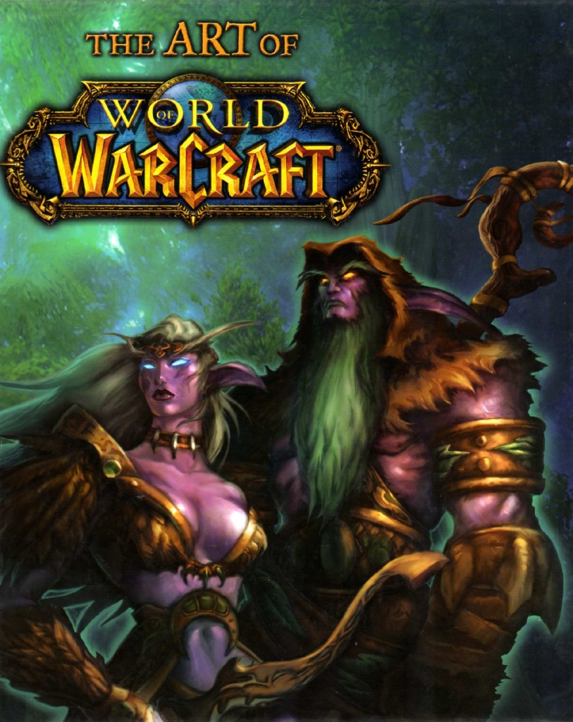 The Art of World of Warcraft (couverture de l'Art Book)