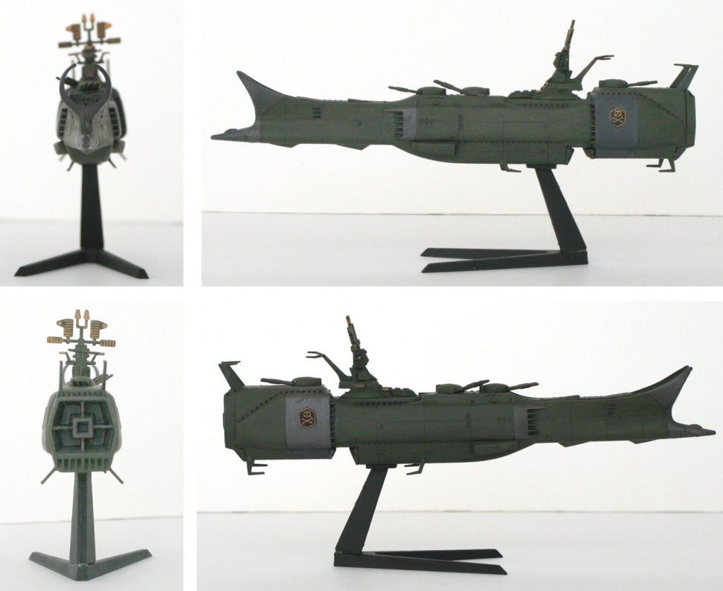 Bandai : Death Shadow 1/1600 (maquette)
