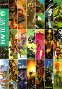 Couverture de l'artbook How to Art Dofus & Wakfu
