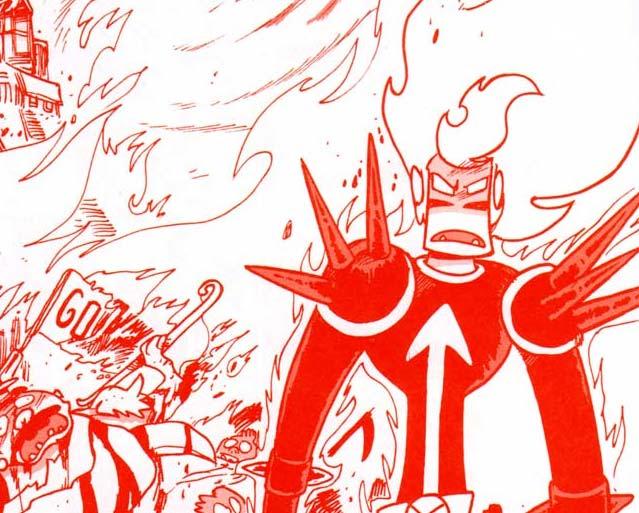 Goultard se transforme en Dark Vlad et tue tous les villageois