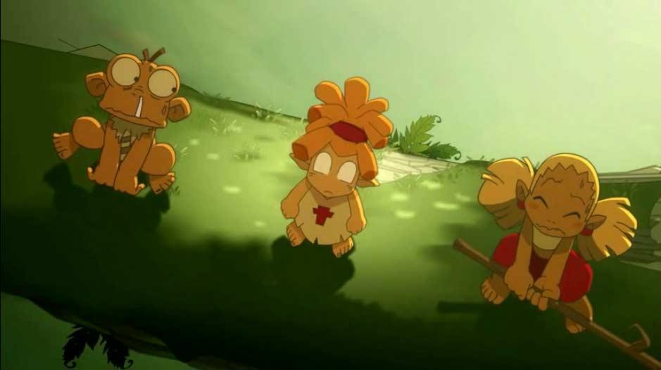 Goultard et ses amis rencontrent un taure