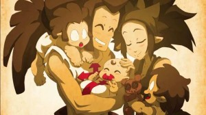 Goultard semble apprécier la vie de famille