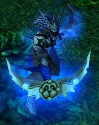 Illidan dans Warcraft 3