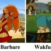 Cabotine apparaît aussi dans l'épisode 2 de Wakfu