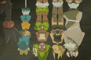 Yugo et ses amis ont été capturés par Grufon