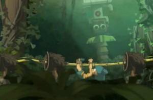 Yugo, Amalia et Evangelyne sont capturé par les Kaniboules