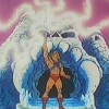 Pour se transformer en Musclor, Adam brandi son épée et dit : Par le pouvoir du Crâne Ancestral (Les Maîtres de l'univers)