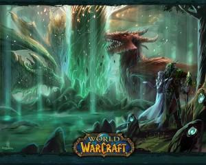 Nordrassil béni par les dragons du vol Draconique