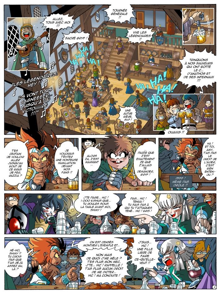 Page 2 : Les Légendaires Tome 13