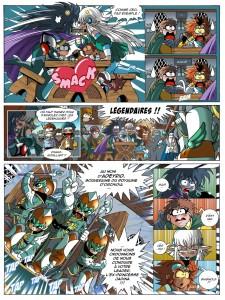 Page 3 : Les Légendaires Tome 13