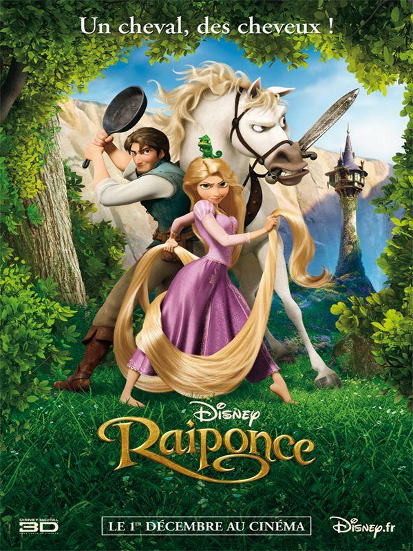 Affiche du film Raiponce des studios Disney