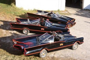 3 Batmobile 1966 Replica