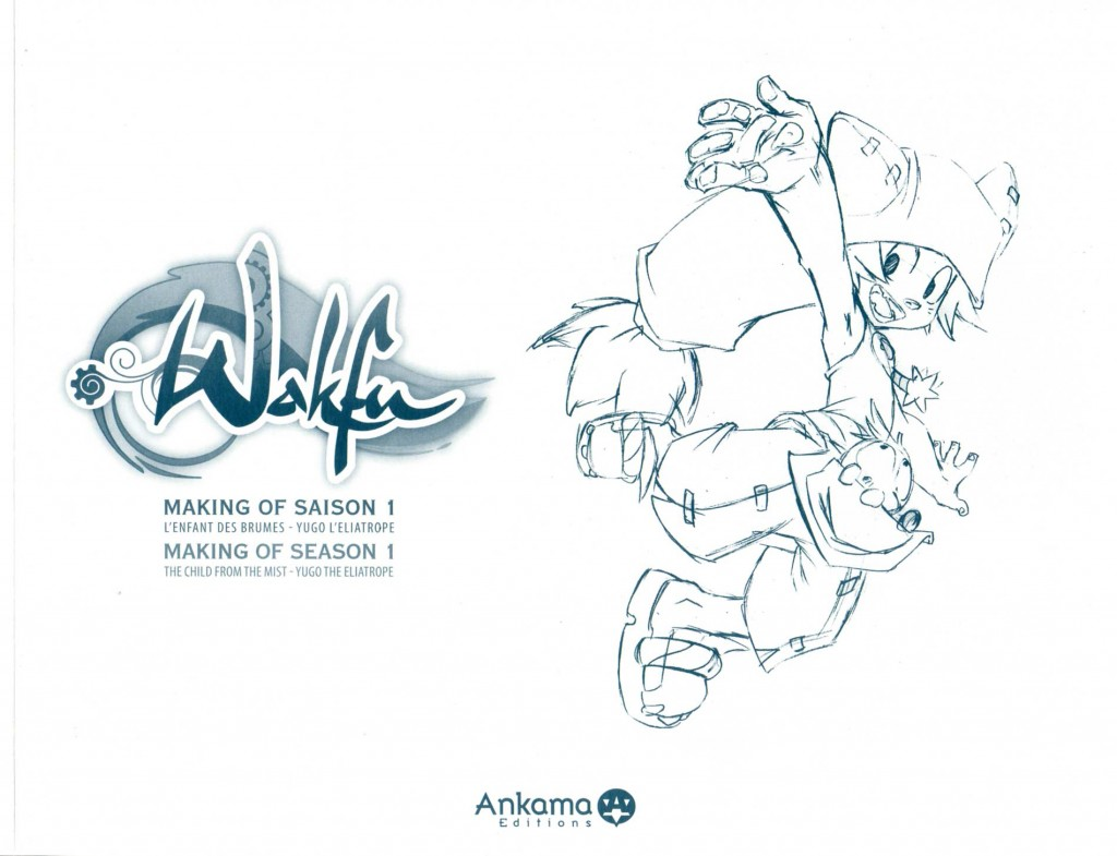 Tome 1 de l'Art Book Wakfu (couverture sans la protection)
