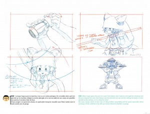 Layout (page 43 du Tome 1 de l'art book de Wakfu)