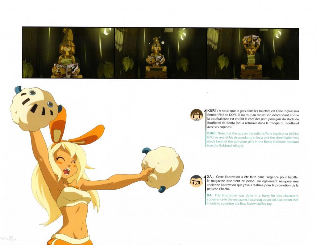 Boufbowleuse (page 44 du Tome 1 de l'Art Book Wakfu)