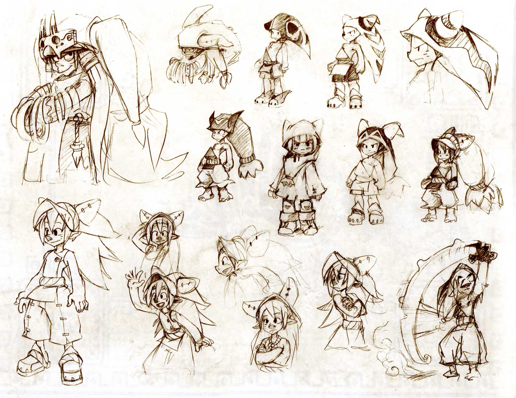 comment dessiner des personnages wakfu