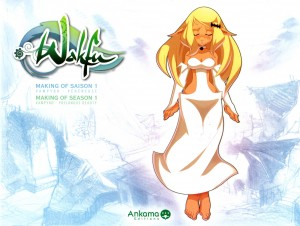 Tome 3 de l'Art Book Wakfu (couverture)