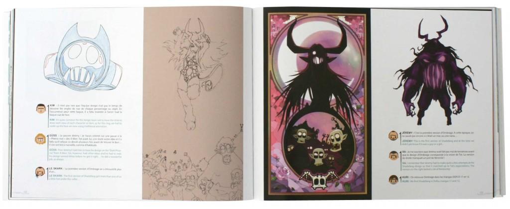 Ombrage est le Shushu de Vampyro (Page 48 du Tome 3 de l'Art Book de Wakfu)
