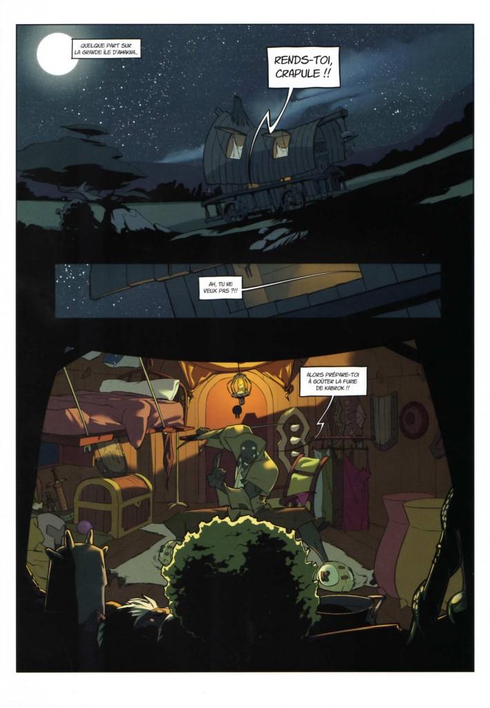 Page 1 - Wakfu Heroes Tome 1 - Le Corbeau Noir