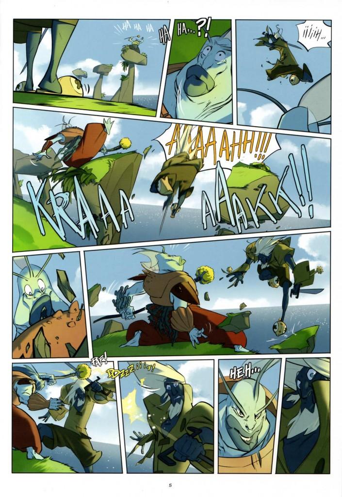 Page 3 - Wakfu Heroes Tome 1 - Le Corbeau Noir