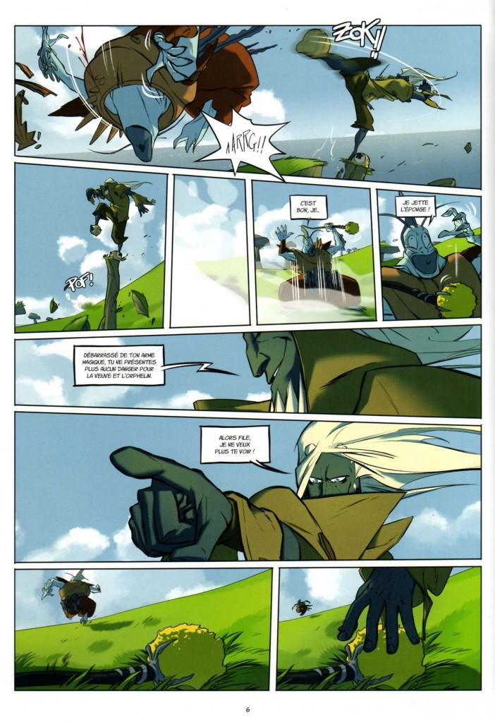Page 4 - Wakfu Heroes Tome 1 - Le Corbeau Noir