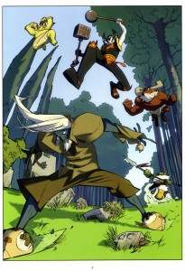 Page 7 - Wakfu Heroes Tome 1 - Le Corbeau Noir
