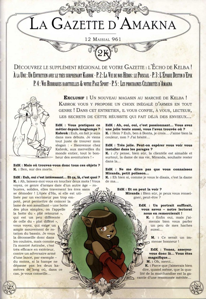 La Gazette d'Amakna