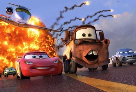 Cars 2 : Flash McQueen et Martin