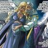 Le Roi Kinder et la Reine Adeyrid se réjouissent de cette grossesse magique