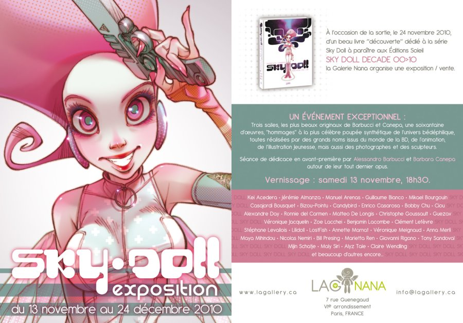 Expo flyer
