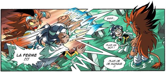 Jadina ne comprend pas pourquoi ses amis l'attaquent