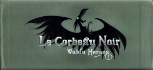 Packaging de la Box collector Wakfu Heroes 1 - Le Corbeau Noir (dessus)