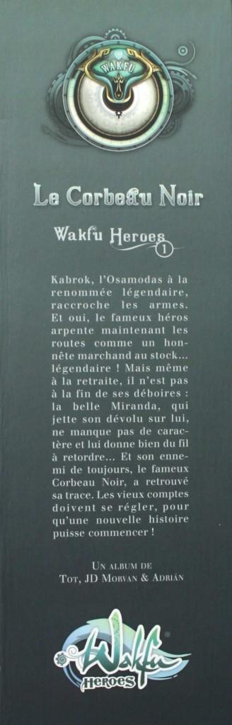 Packaging de la Box collector Wakfu Heroes 1 - Le Corbeau Noir (côté gauche)