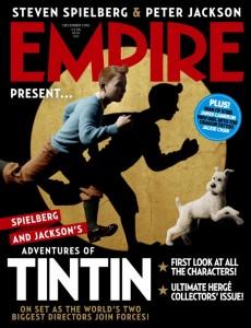 Les aventures de Tintin (affiche du film 3D)