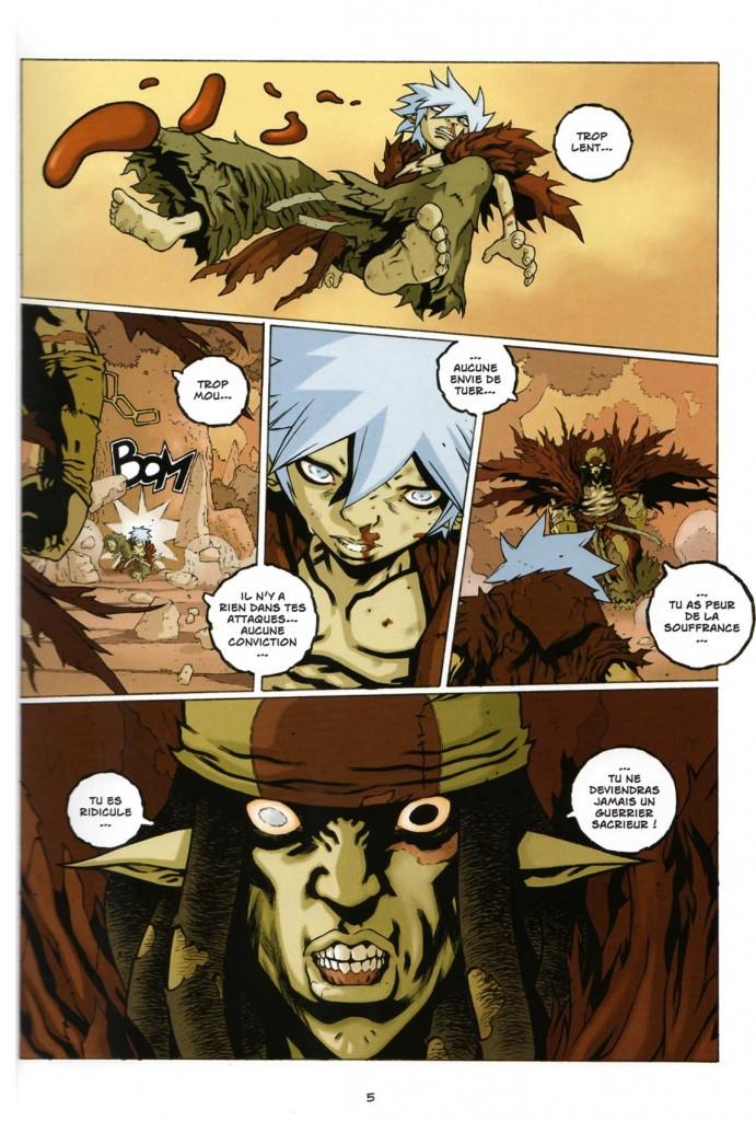 Page 001 - Wakfu - Les Larmes de sang : Tome 1 - Silas