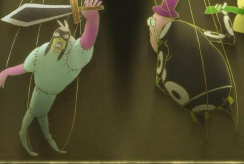 Noximilien a créé un théâtre de marionnettes (Wakfu)
