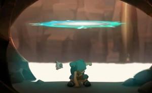 Yugo se téléporte avec ses amis dans une zone d'ombre éloignée d'Igôle